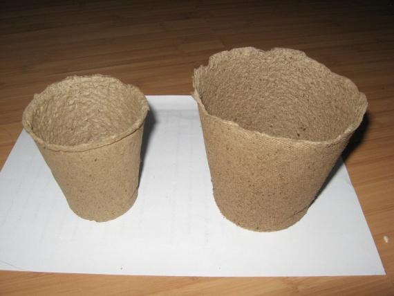 торфяные горшочки для рассады