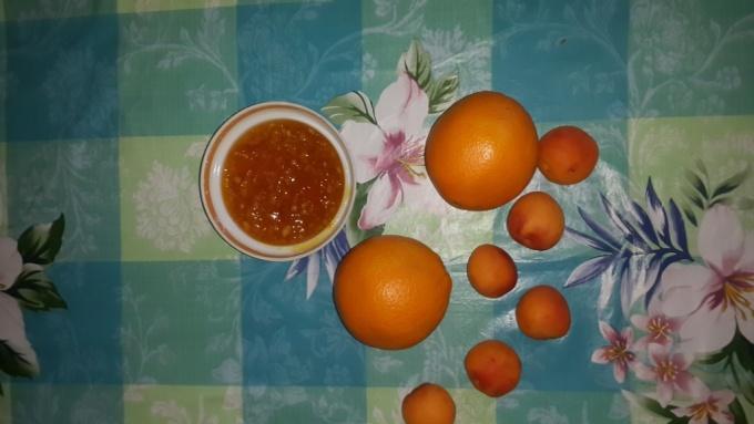 Варенье из абрикоса и апельсина. Лечим простуду